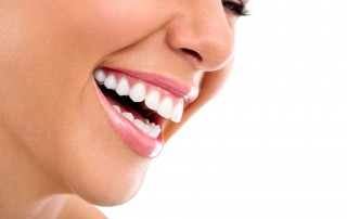 Close up of beautiful woman laughing