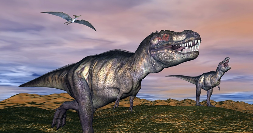 How Dinosaurs Invented the First Dentures