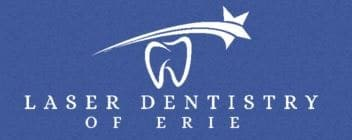 Logo for Laser Dentistry of Erie - office of FOY Denture Dentist Albert Starr