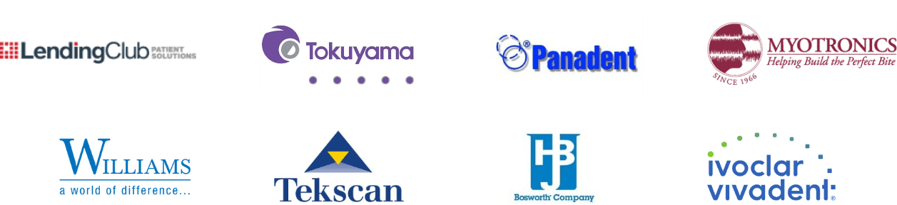 Logos of business affiliated with FOY Dentures
