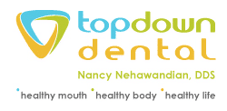 Dr. Nancy Nehawandian, Top Down Dental logo